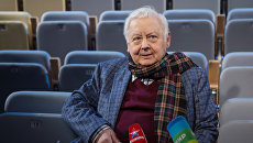 Художественный руководитель МХТ имени А.П.Чехова Олег Табаков. Архивное фото