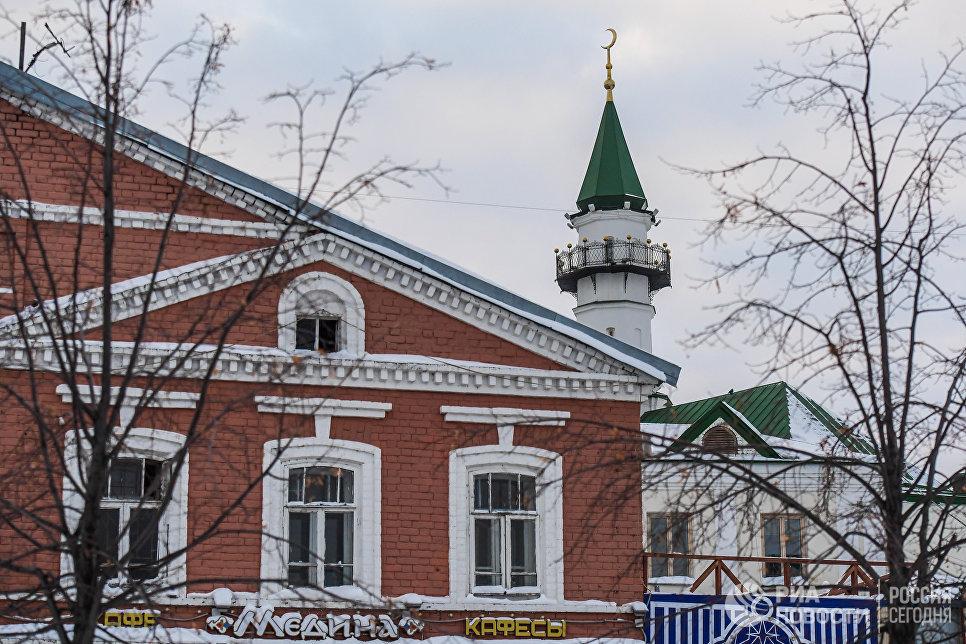 Апанаевская мечеть в Старой Татарской слободе.