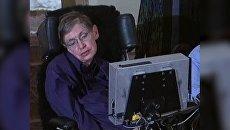Космос, вот и я. Физик-теоретик Стивен Хокинг в архивных видеокадрах