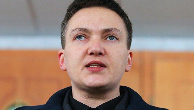 """Савченко заявила, что у генпрокурора Украины """"поехала крыша"""""""