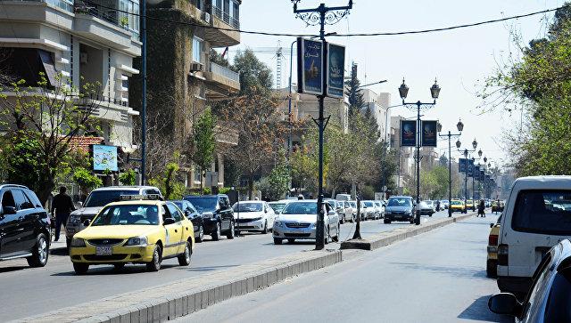 Дамаск, Сирия. 14 марта 2018