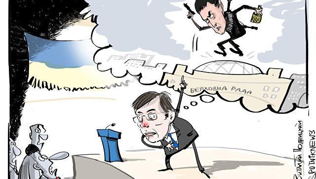Савченко предложила себя в обмен на украинских заключенных в России