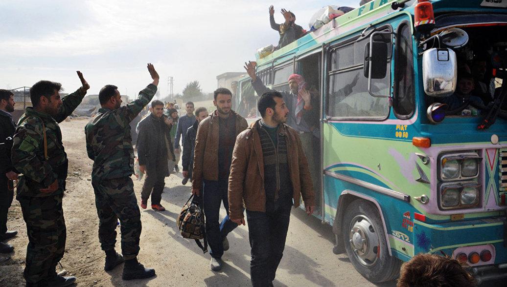 Восточную Гуту почти полностью освободили от террористов