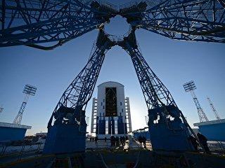 Стартовый комплекс космодрома Восточный. Архивное фото