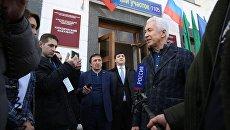 Врио главы Дагестана Владимир Васильев проголосовал на избирательном участке в Дагестанском государственном университете. Архивное фото