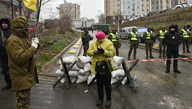 Ситуация у здания консульства РФ в Одессе в день выборов президента РФ. 18 марта 2018