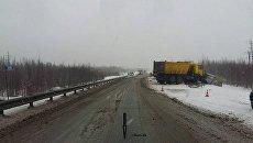ДТП на 646 км Нефтеюганского района федеральной автодороги Тюмень - Ханты-Мансийск. 19 марта 2018