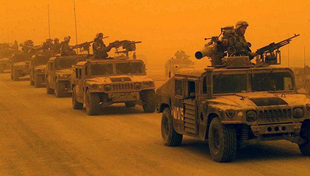 1-й разведывательно-дозорный батальон 1-й дивизии морской пехоты США в Ираке