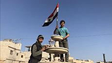 Сирийская молодежь. Архивное фото