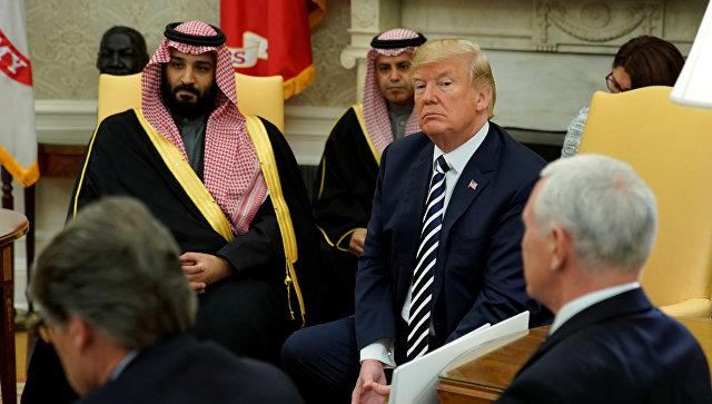 Трамп и наследный принц Саудовской Аравии обсудили йеменский конфликт