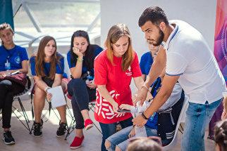 Крайне важно, чтобы волонтер мог правильно оказать доврачебную помощь