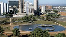 Город Бразилиа. Архивное фото