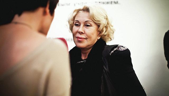 Певица Любовь Успенская. Архивное фото