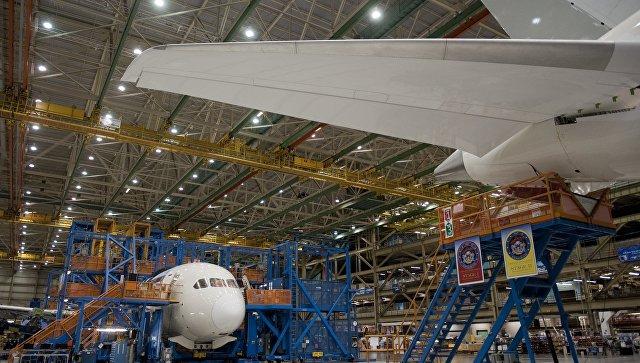 Boeing Everett Factory. Архивное фото
