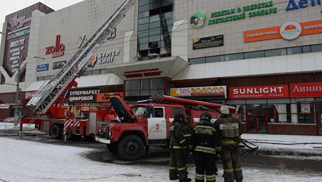 Поделу опожаре вТЦ Кемерова задержали четырех человек