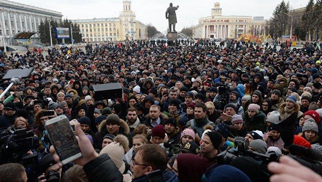 Воронежские водители присоединились какции памяти опогибших вКемерове