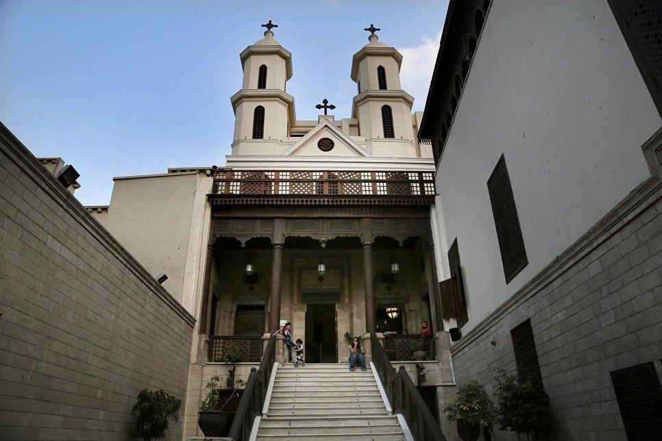 Коптская православная церковь Святой Марии в Каире