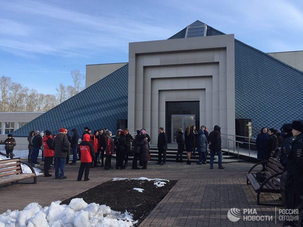 ВКемерово проходит прощание спогибшими впожаре