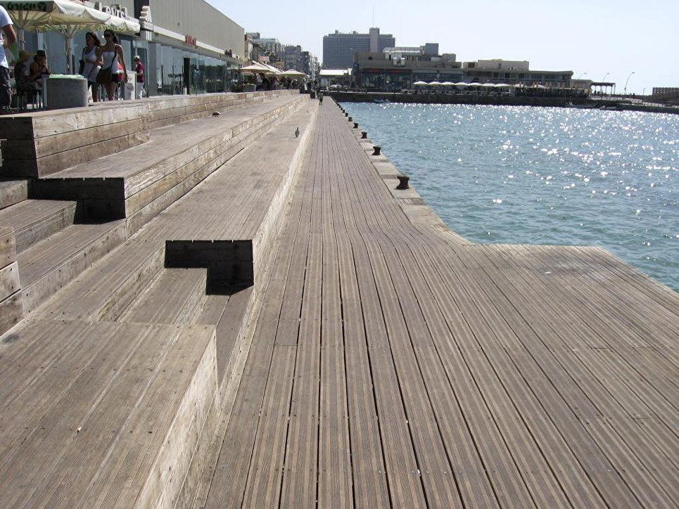 Порт в Тель-Авиве