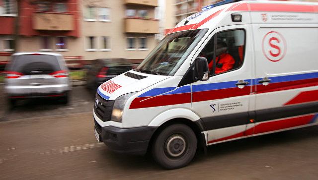 Машина скорой помощи в Польше. Архивное фото