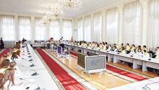 Участники Ломоносовского обоза в ТюмГУ