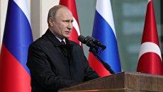 Президент РФ Владимир Путин. 3 апреля 2018