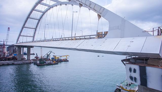 Рабочее движение по автоподходу к мосту в Крым откроют в ближайшие дни