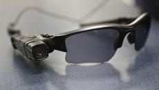 Солнечные очки с видеокамерой. Архивное фото