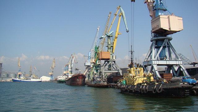 Бердянский морской торговый порт. Архивное фото