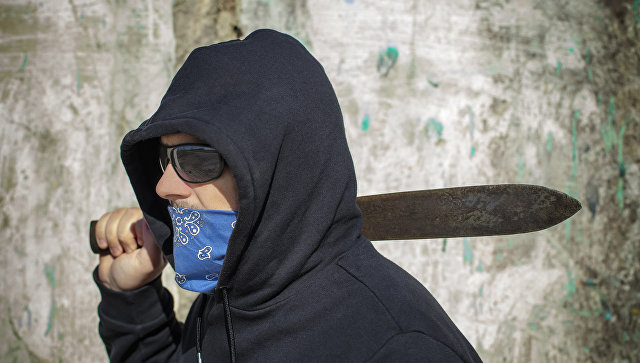 Встолице Англии сделала ограбление банда смачете