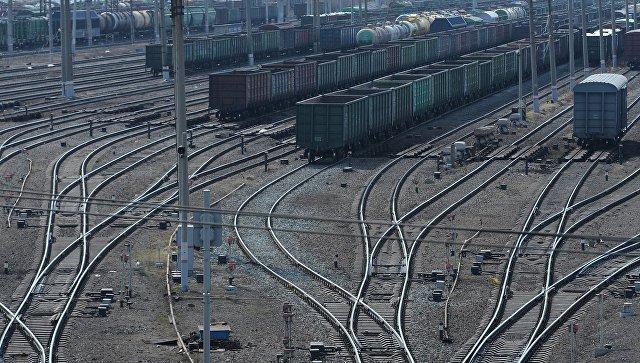 Два вагона грузового поезда сошли срельсов вПсковской области