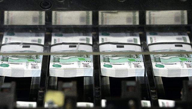 Нарезка денежных купюр на фабрике Гознак