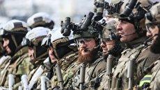 Бойцы Росгвардии во время учений. Архивное фото