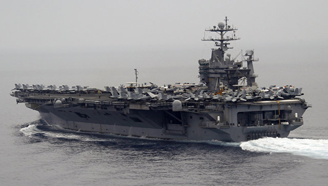 Эксперт прокомментировал планы США оставить авианосец в Средиземном море