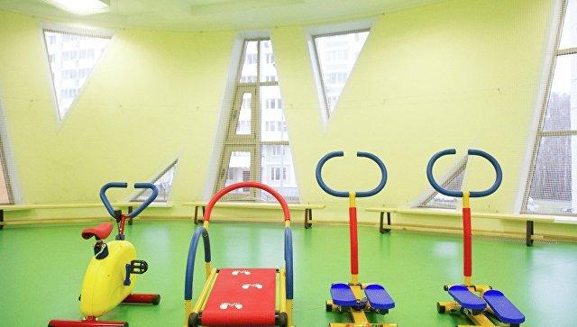 Спортзал в детском садике