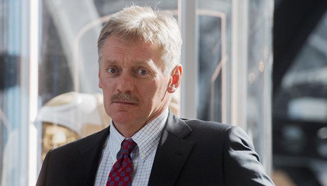 Заместитель руководителя администрации президента РФ Дмитрий Песков. 12 апреля 2018