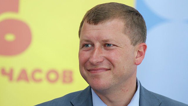 Директор аэропорта Симферополь Евгений Плаксин