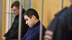 Рассмотрение Тверским судом ходатайств о продлении ареста двум фигурантам дела о контрабанде кокаина. Архивное фото