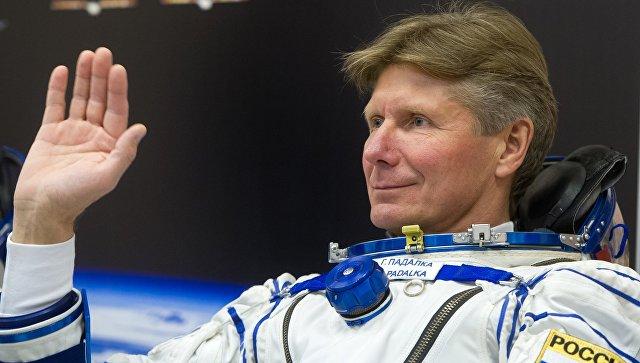 Космонавт Роскосмоса Геннадий Падалка (Россия). Архивное фото