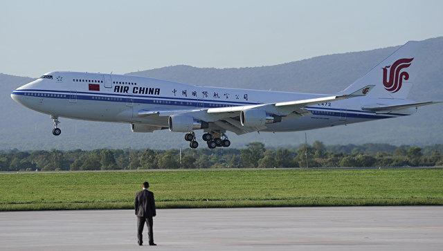 Самолет авиакомпании Air China. Архивное фото