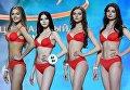 Выступление финалисток конкурса Мисс Россия-2018 в концертном зале Барвиха