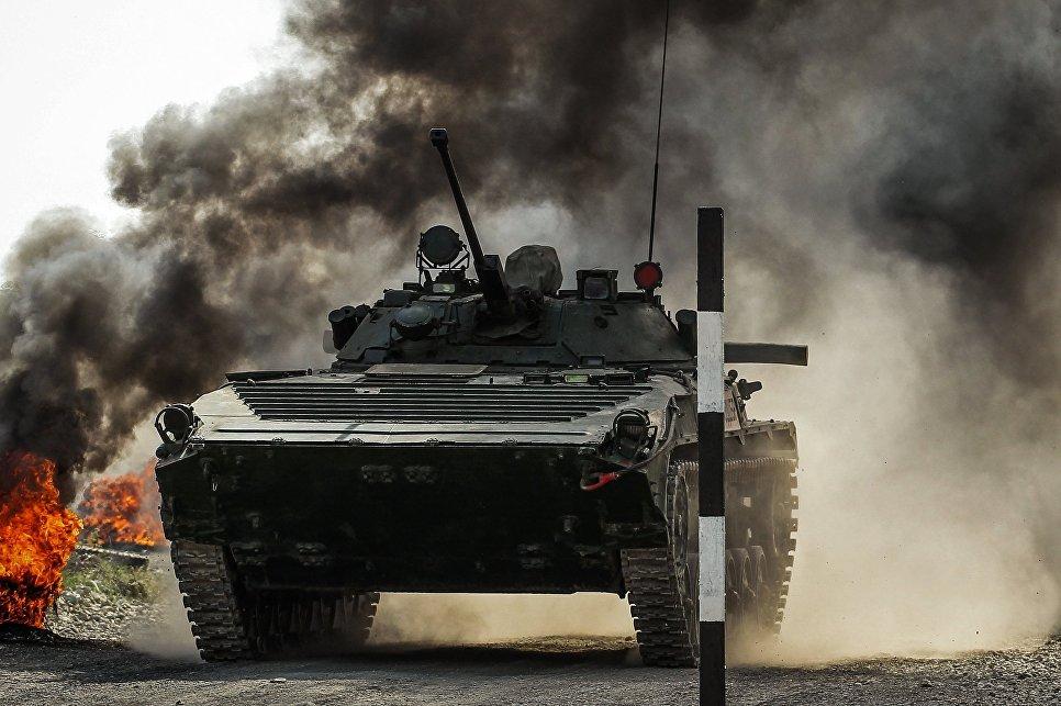 Международный конкурс Десантный взвод в Краснодарском крае