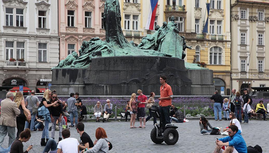 В Праге запретят передвигаться на велосипеде по центру города