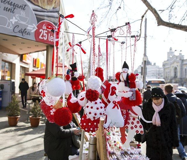 Продажа традиционных молдавских сувениров в Кишиневе