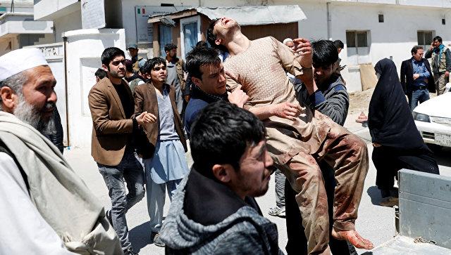 Число погибших при взрыве в Кабуле увеличилось до 57