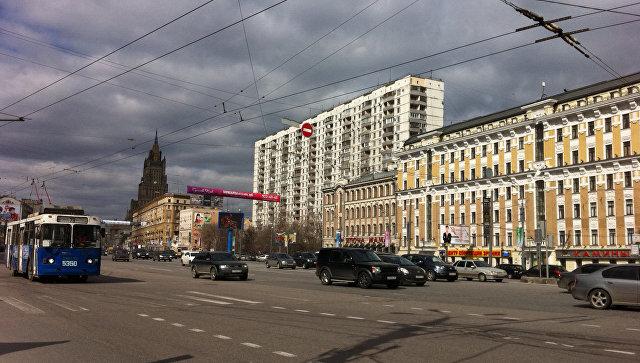 Садовое кольцо в Москве