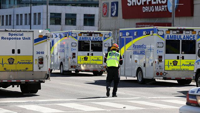 В милиции Торонто уточнили число погибших ипострадавших при наезде напешеходов