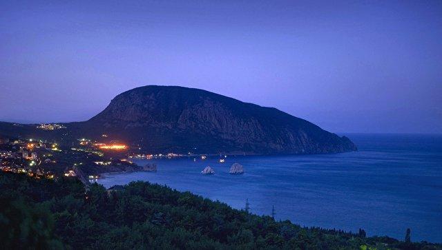 Гора Аю-Даг в Крыму. Архивное фото