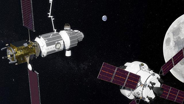 Проект международной обитаемой окололунной станции Deep Space Gateway