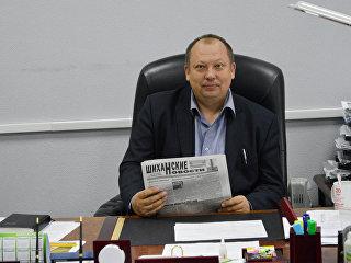 Глава ЗАТО Шиханы Андрей Евгеньевич Татаринов. Архивное фото